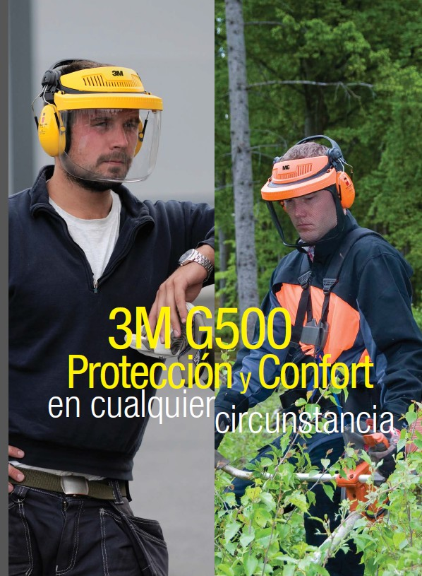 330305  PANTALLA G500 3M? Headgear Combinations G500