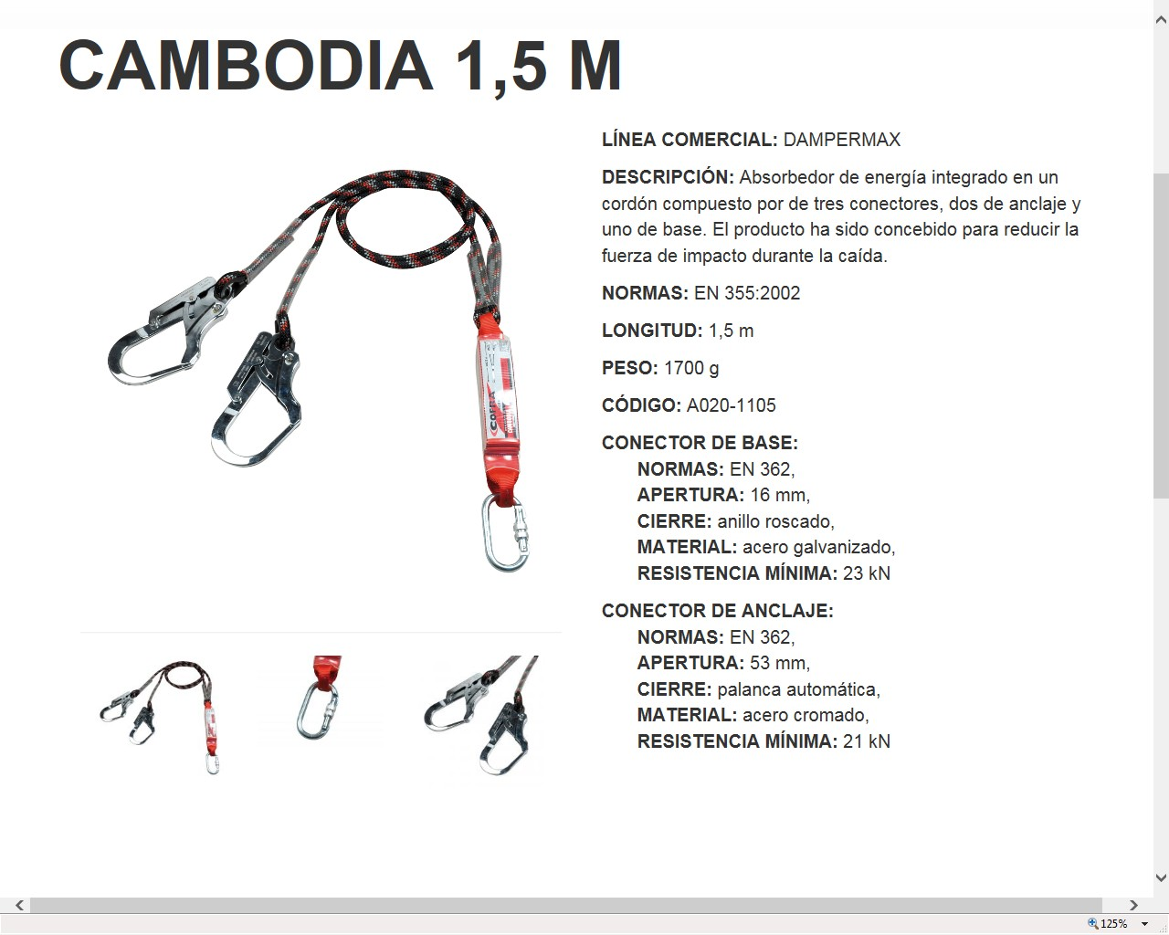 350426  ABSORBEDOR ENERGIA CAMBODIA /DAMPERMAX