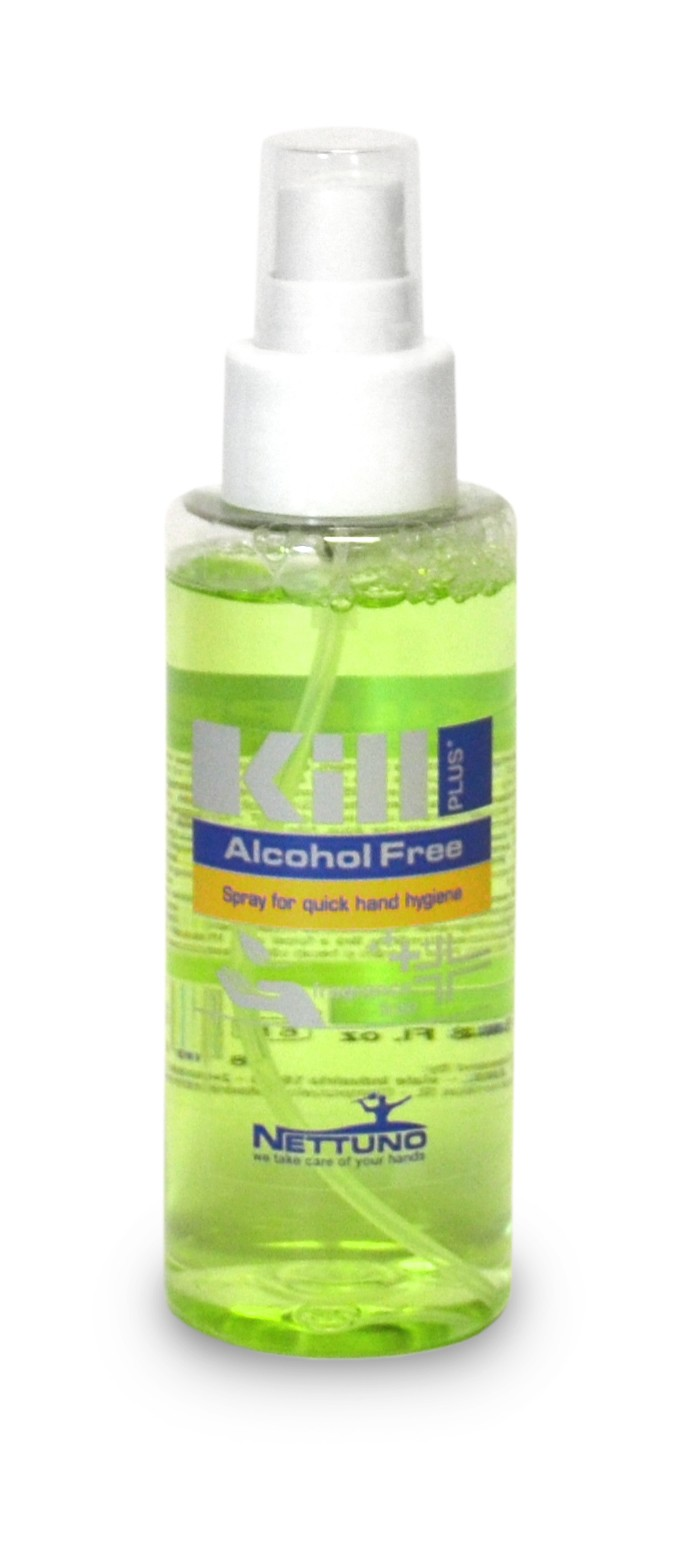 360155  KILL PLUS higienizante e hidratante manos sin alcohol